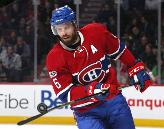 Canadiens defenseman Shea Weber