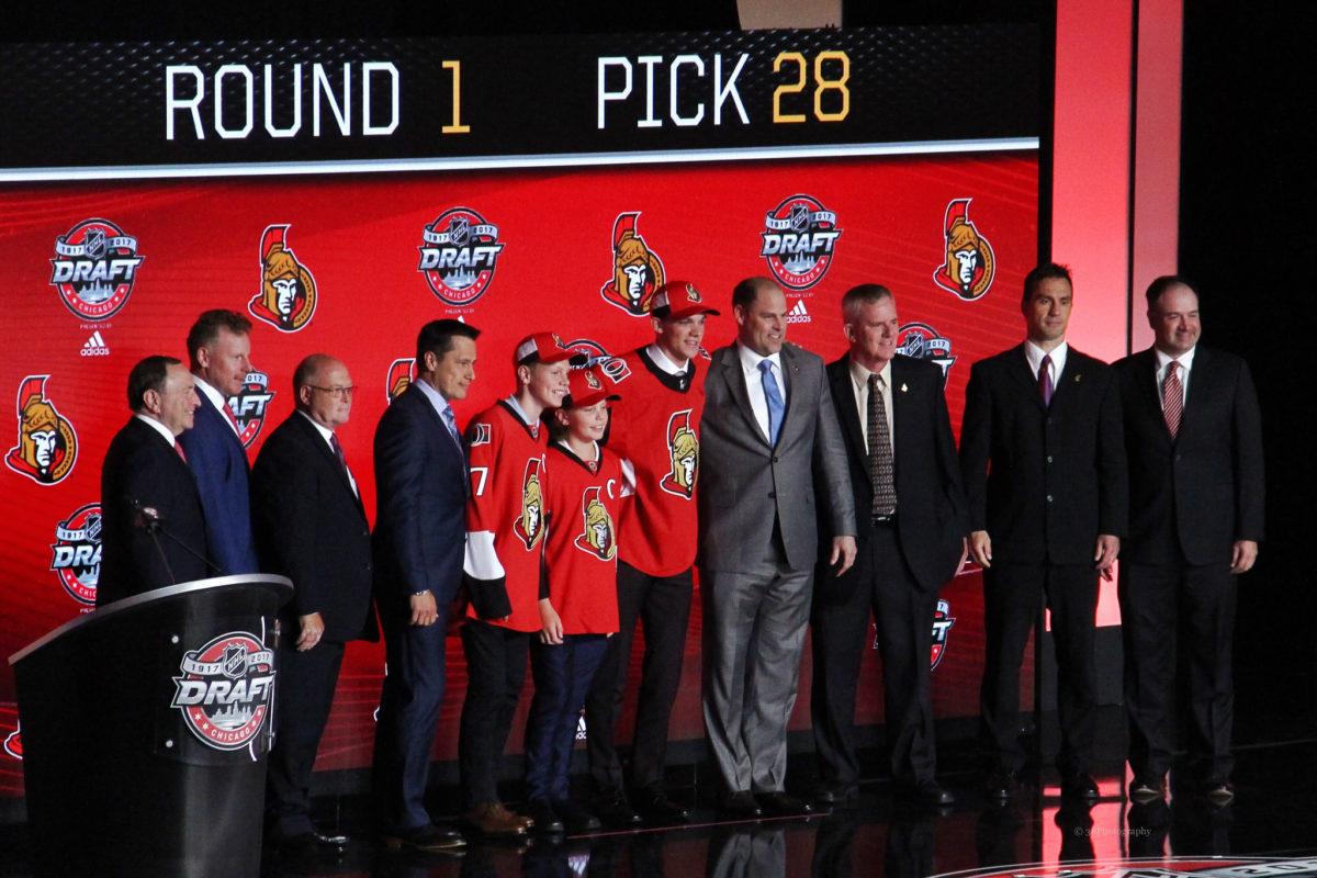 Shane Bowers Ottawa Senators
