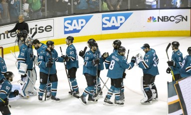 San Jose Sharks Showing No Signs Of Weakness In Playoffs