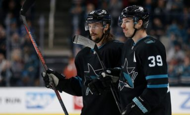 Sharks Blank Canucks - Thornton Reaches Another Milestone