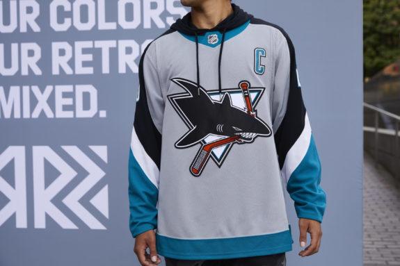 San Jose Sharks Reverse Retro jersey
