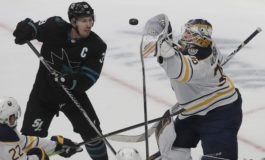 Sharks' Logan Couture out 6 Weeks With Ankle Injury