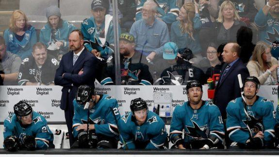 San Jose Sharks coach Peter DeBoer