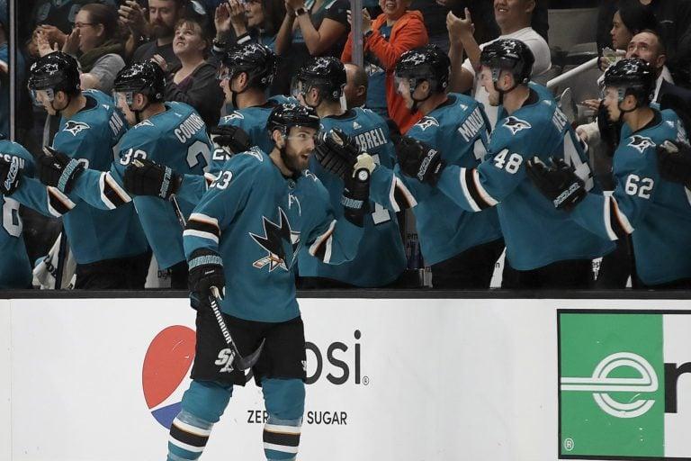 San Jose Sharks' Barclay Goodrow