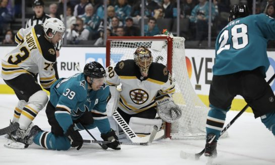 Bruins Beat Sharks on McAvoy's OT Winner