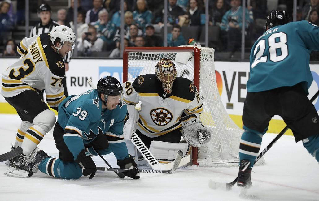 Boston Bruins Beat San Jose Sharks on McAvoy's Overtime Winner