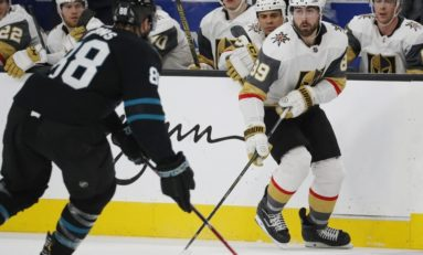 Sharks Rally Late Past Golden Knights