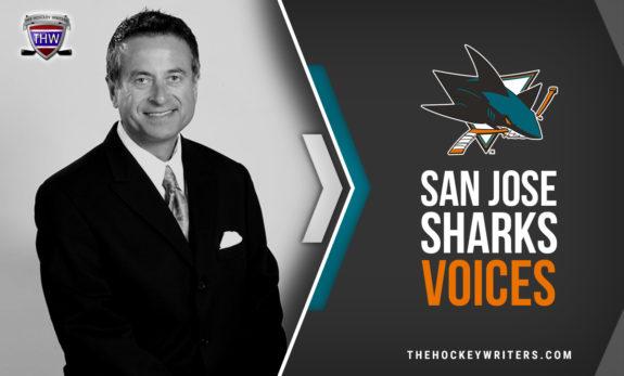 San Jose Sharks Voices Randy Hahn and Dan Rusanowsky