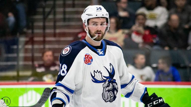 Logan Shaw, Manitoba Moose