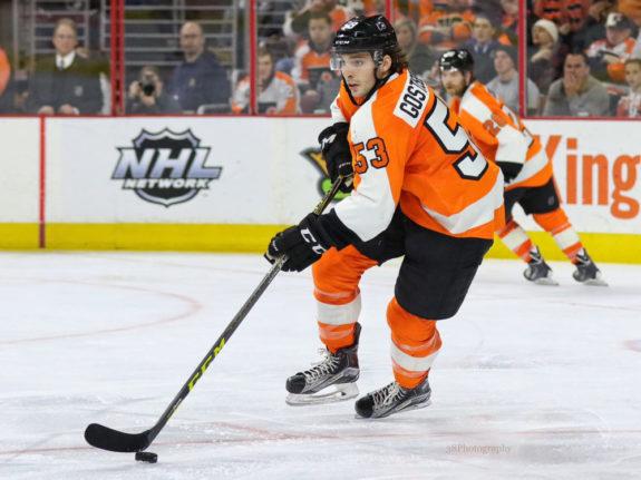 Shayne Gostisbehere, Philadelphia Flyers