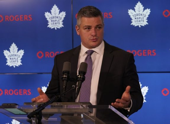 Sheldon Keefe Toronto Maple Leafs