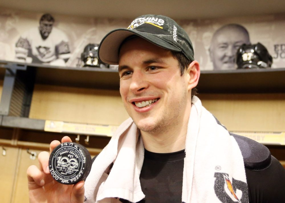 the best attitude d3d7c 570aa Can Sidney Crosby Reach 2,000 Points?