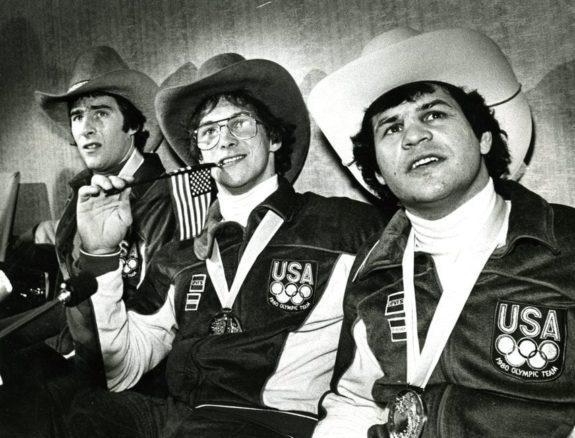 Dave Silk Jack O'Callahan Mike Eruzione Team USA 1980 Olympics