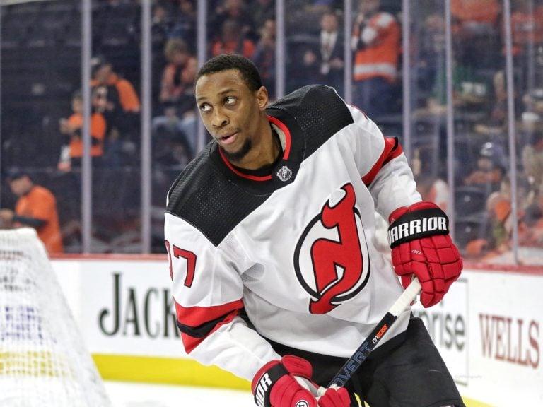 Wayne Simmonds New Jersey Devils