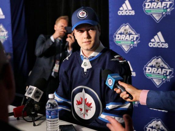 Simon Lundmark Winnipeg Jets Draft