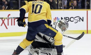 Predators Sign Colton Sissons to 7-Year, $20 Million Contract