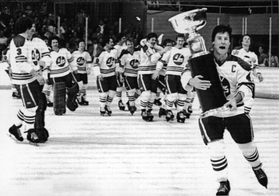 Winnipeg Jets Win The Avco Cup 1979