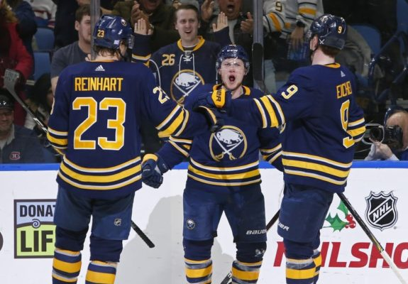 on sale fb8a2 092ec Buffalo Sabres Ailing Jack Eichel Voted an All-Star Again