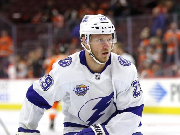Slater Koekkoek #29, Tampa Bay Lightning