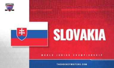 2020 WJC Team Slovakia Final Roster