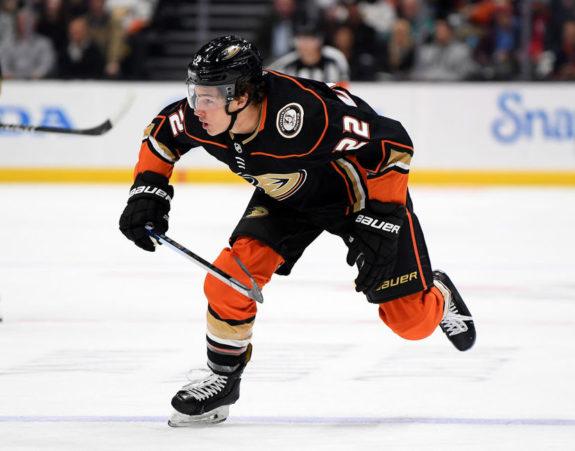 Sonny Milano Anaheim Ducks