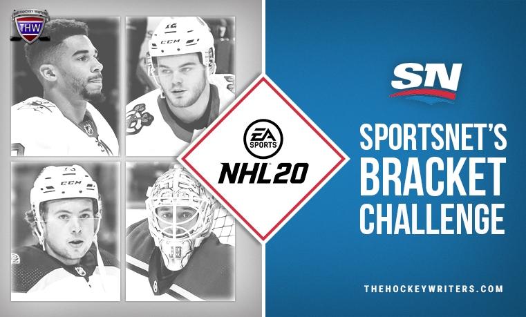 Sportsnet's Bracket Challenge Charlie McAvoy, Evander Kane, Jordan Binnington and Alex DeBrincat