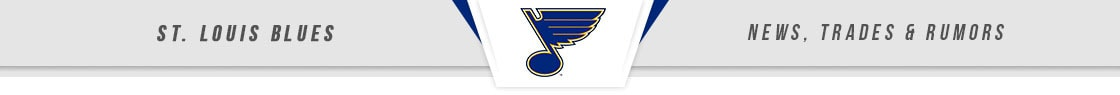 St. Louis Blues News, Trades & Rumors