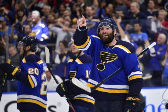 St. Louis Blues Pat Maroon