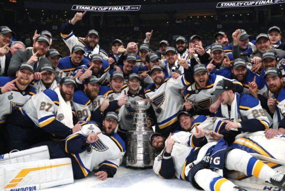 St. Louis Blues, 2019 Stanley Cup Champions