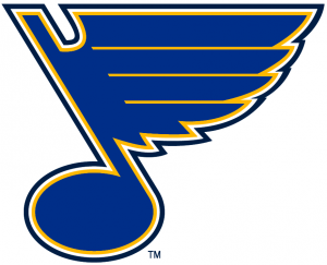 St. Louis Blues logo.