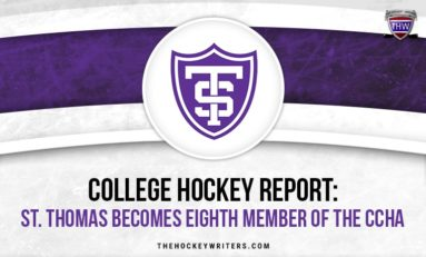 College Hockey Report: St. Thomas Becomes the Eighth Member of the CCHA