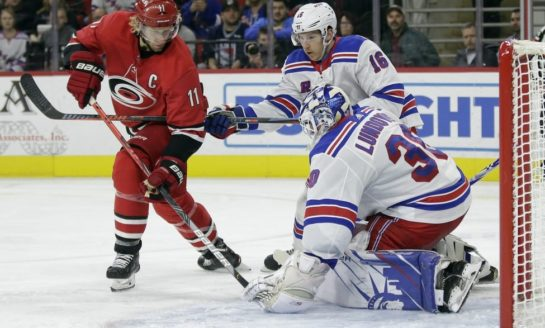 Hurricanes Face Daunting Challenge Against Rangers