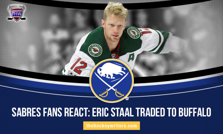 Buffalo Sabres Fans React: Eric Staal Traded to Buffalo