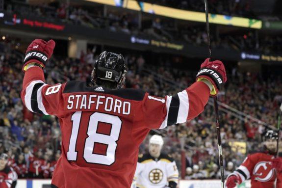 New Jersey Devils Drew Stafford