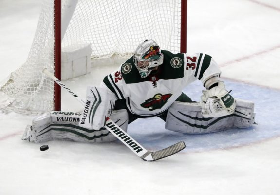 Minnesota Wild goalie Alex Stalock