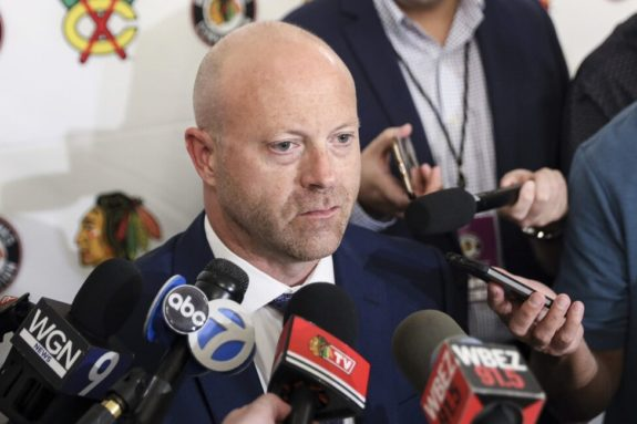 Stan Bowman, Chicago Blackhawks