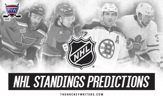 NHL Standings Predictions