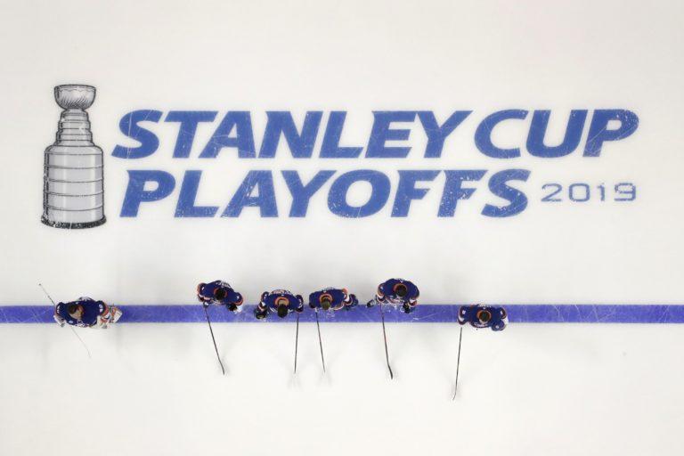 New York Islanders starting line