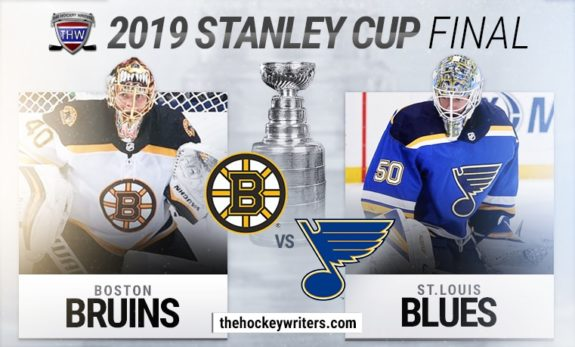 2019 Stanley Cup Final Boston Bruins St.Louis Blues