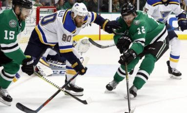 Blues, Stars Meet Again in Game 7 for Spot in West Finals