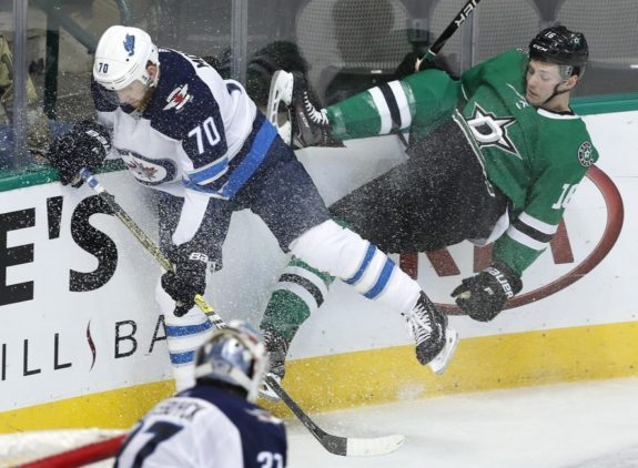 Winnipeg Jets Joe Morrow Dallas Stars Jason Dickinson