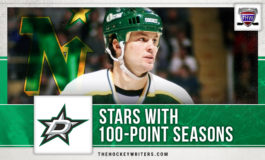North Stars with 100-Point Seasons