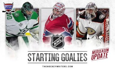 Ranking the NHL's 31 Starting Goalies — Midseason Update