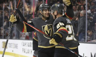 Golden Knights Snap 2-Game Skid by Dominating Flames