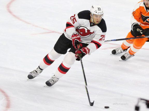 Stefan Matteau New Jersey Devils