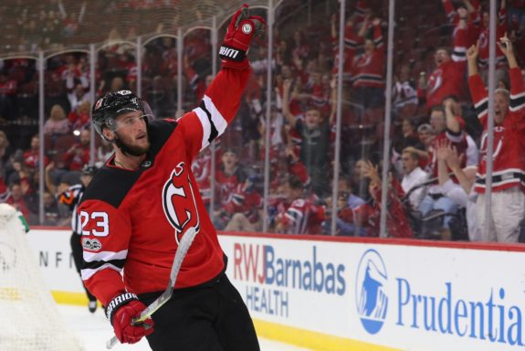 New Jersey Devils right wing Stefan Noesen