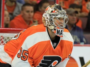 (Amy Irvin/The Hockey Writers) Steve Mason has really solidified himself as the starter — and thus likely the keeper — for the Philadelphia Flyers since Michal Neuvirth went down to injury in mid-November.