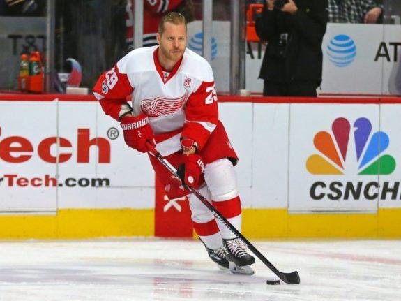 Former Detroit Red Wings forward Steve Ott.