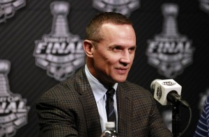 Steve Yzerman was hired as general manager on Mar. 25, 2010. (Kim Klement-USA TODAY Sports)