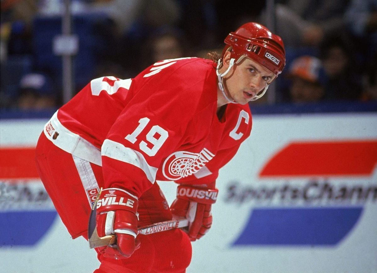 Steve Yzerman Detroit Red Wings